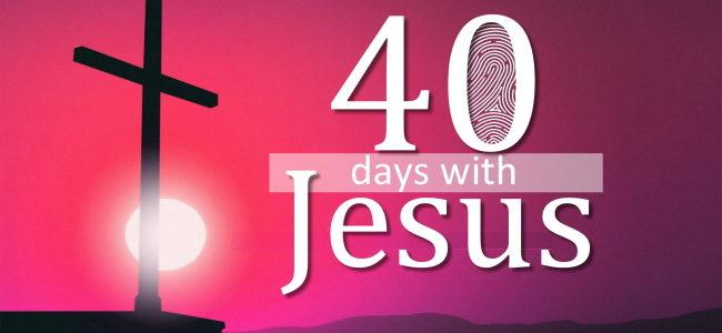 40 Days with Jesus series