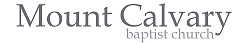 Mt. Calvary Baptist Church – Charleston WV