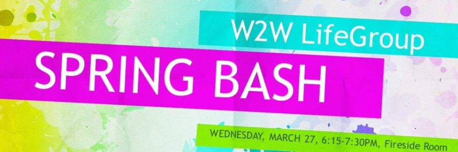 Women 2 Women LifeGroup Spring Bash