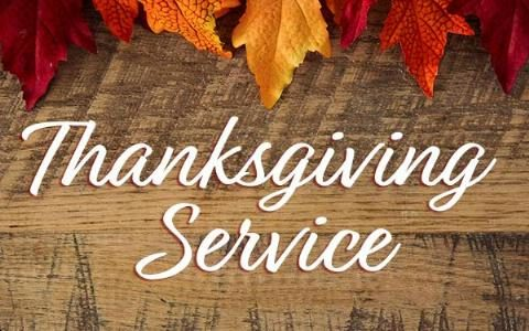 Thanksgiving Service 2019